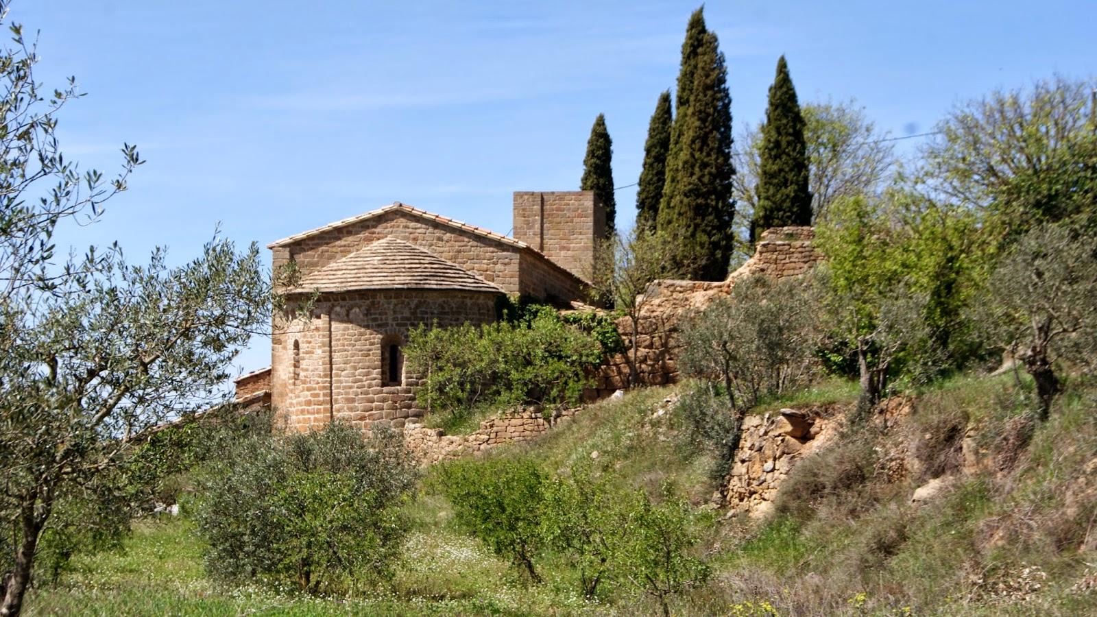 Església de Santa Maria de l'Aguda (Torà) per Teresa Grau Ros