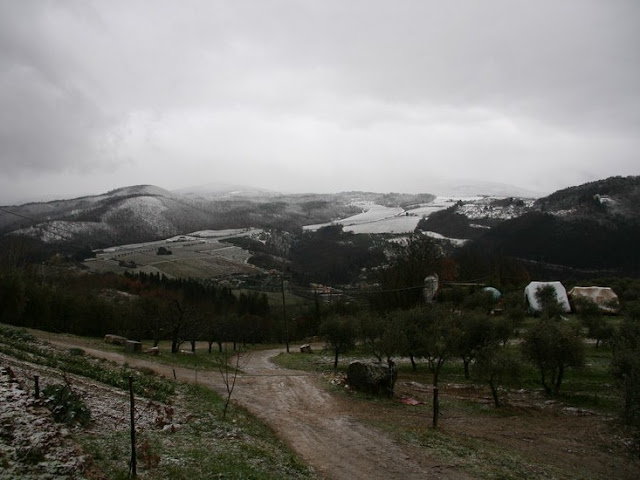 Neve sull'Appennino