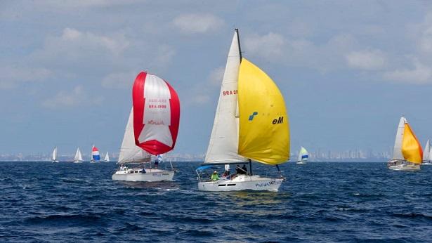 Regata Aratu Maragojipe reuniu barcos de 9 estados neste sábado (24)