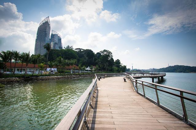 Labrador Nature & coastal walk and Reflections at Keppel Bay-Singapore