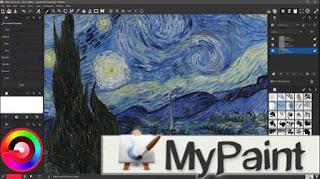 برنامج, رسم, احترافي, للكمبيوتر, مع, إمكانية, تحرير, ومعالجة, الصور, MyPaint