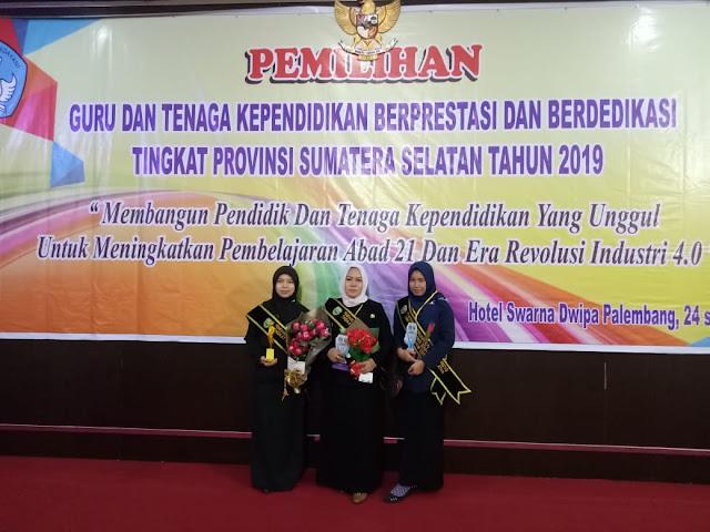 Guru dan Kepsek di Muba Raih Prestasi Tingkat Provinsi