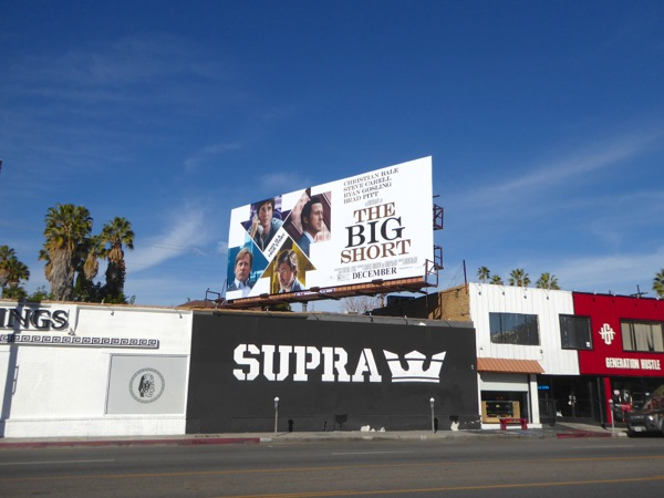 The Big Short billboard
