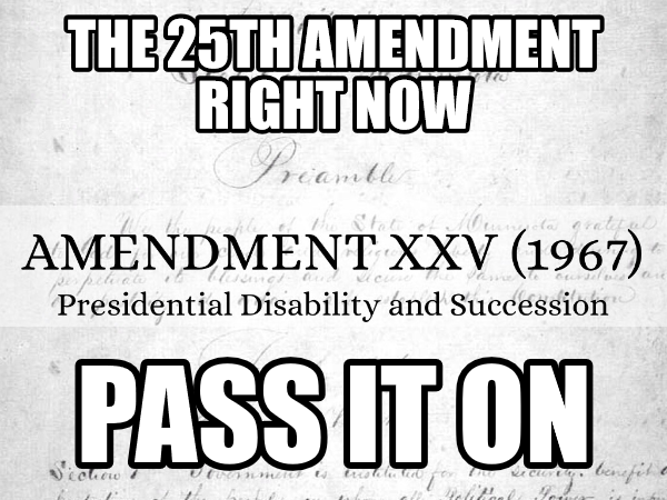 GT Progressive News: 25th Amendment Now!