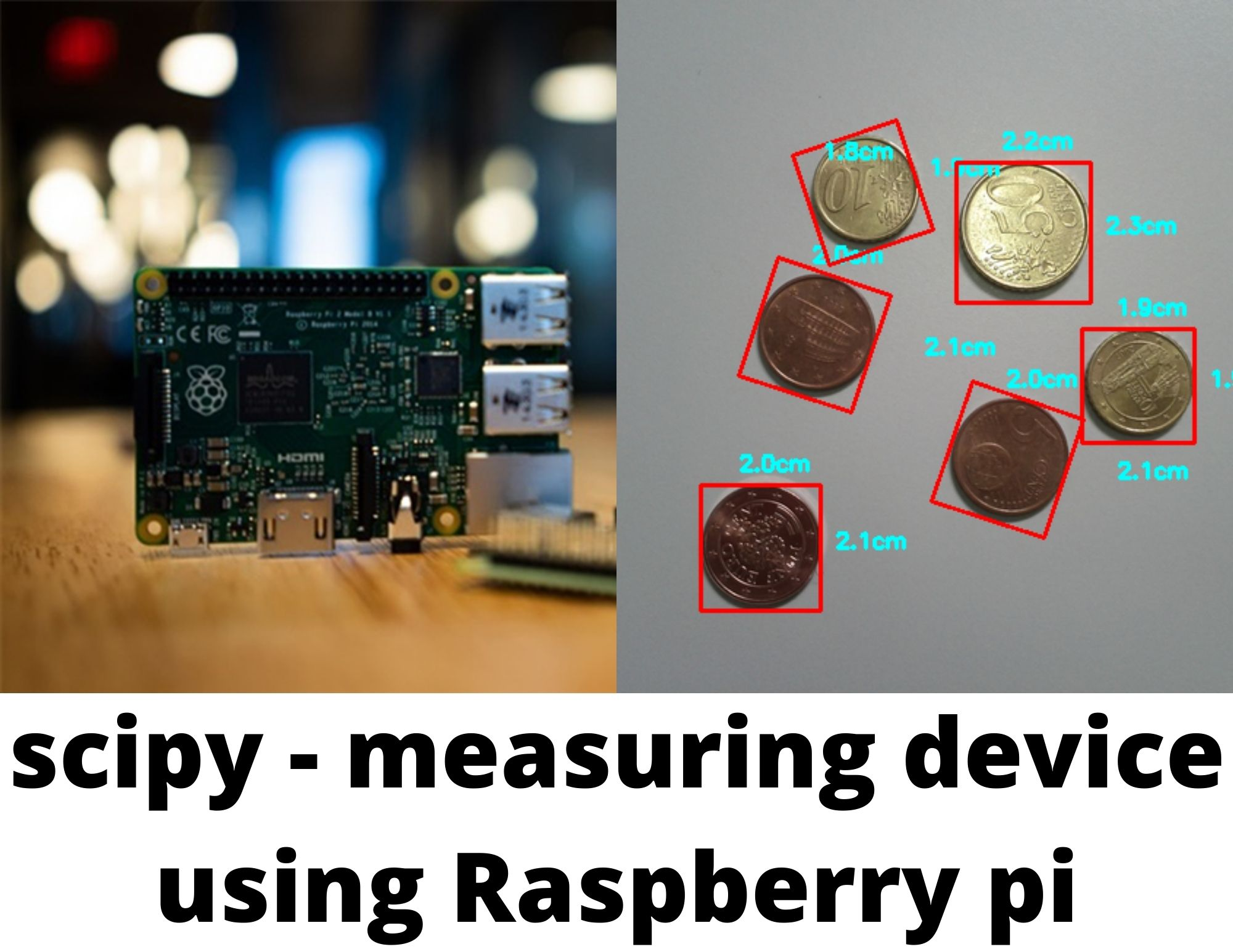 Measuring Device Using Scipy on Raspberry Pi