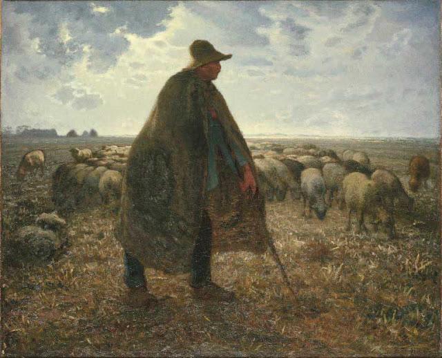 Жан Франсуа Милле - Пастух гонит стадо