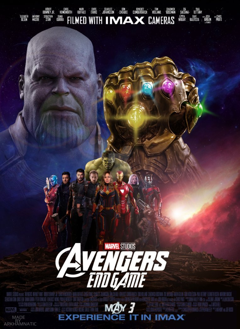 Avengers 4 end game latest wallpapers in hd 4k iron man - Movie poster wallpaper ...