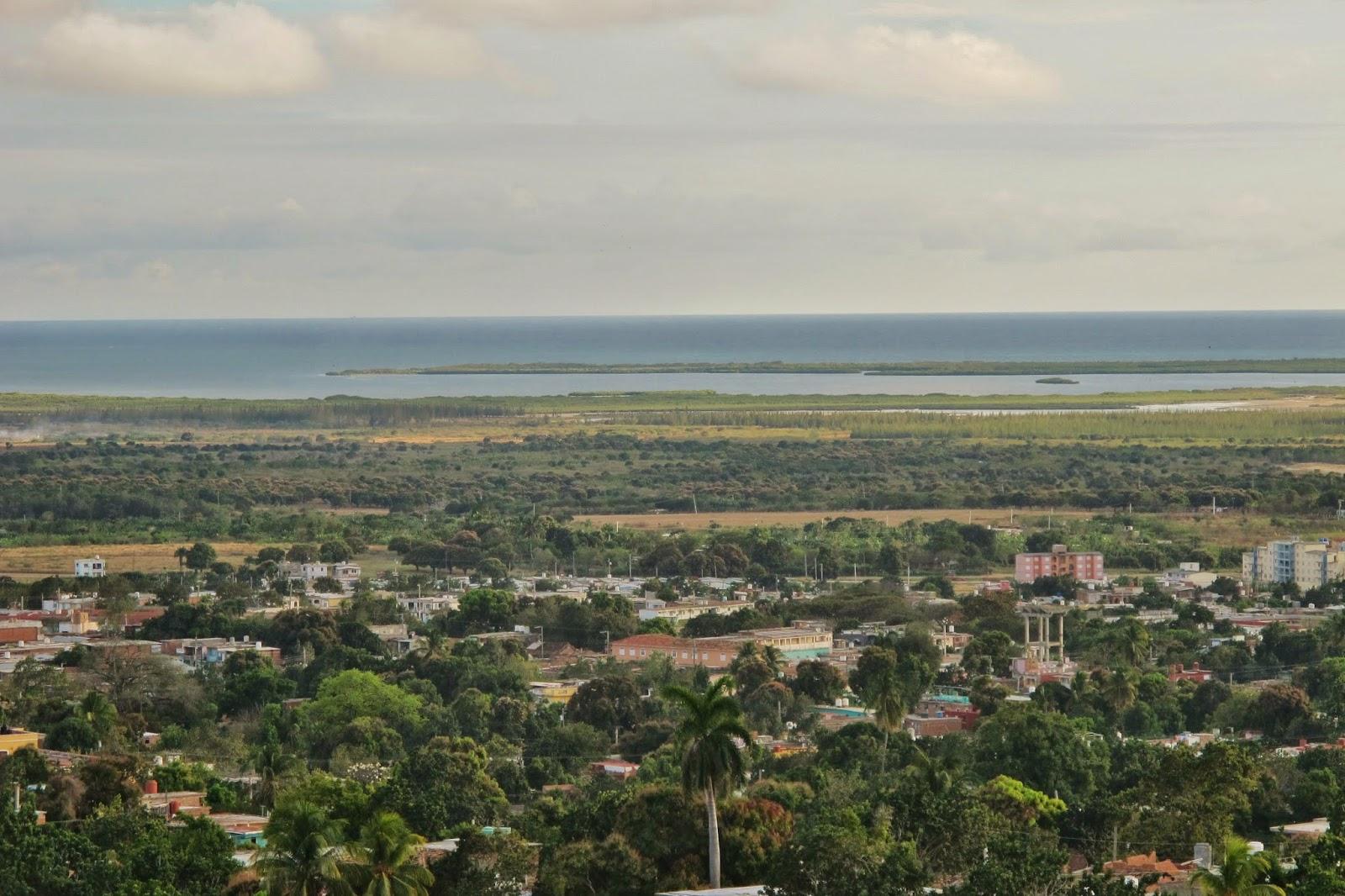 Península Áncon vista de Trinidad