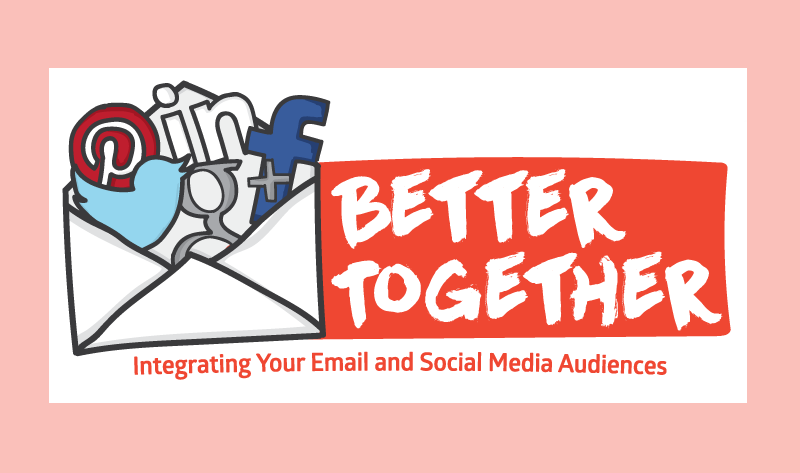 Why Email Marketing and Social Media Marketing Work Better Together - infographic