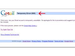 Cara Mengatasi Gmail Temporary Error (500)