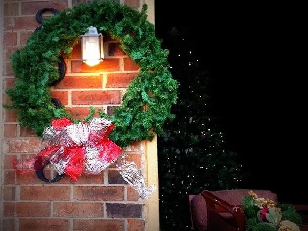 7.5' Christmas Tree Pre-lit W/ Christmas Lights (Oklahoma