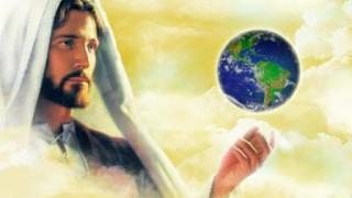 Jesus e o mundo, ele está em todos os lugares