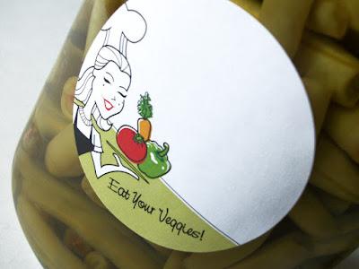 vegetable canning labels