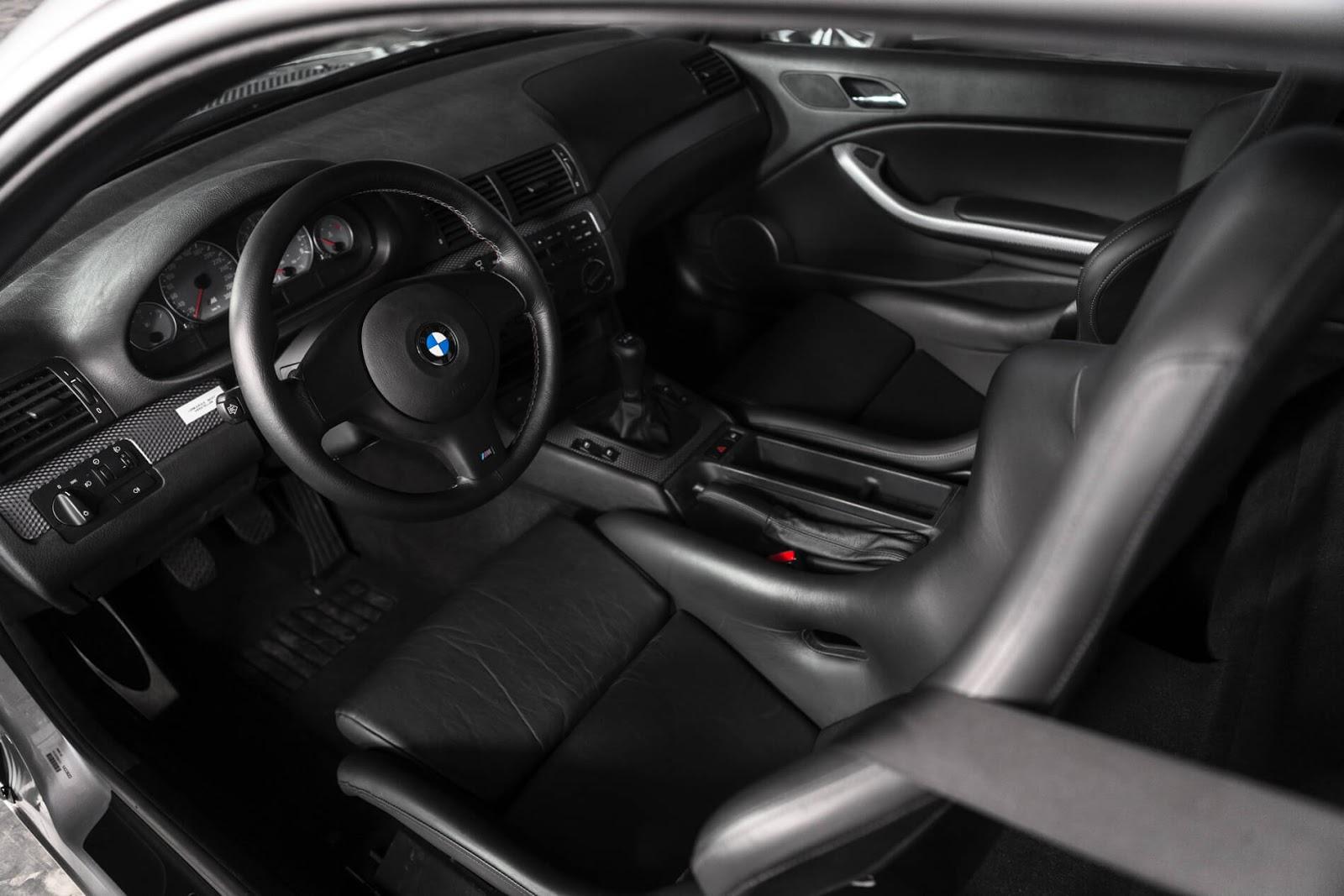 Interior BMW E46 M3 GTR