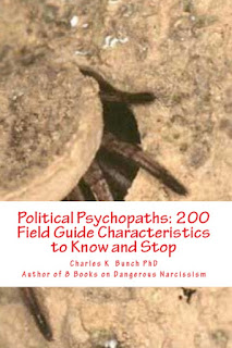 Political Psychopaths and Donald Trump: books by Charles K Bunch phd at Amazon.com