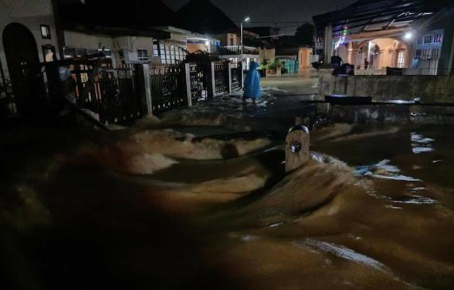 Kerinci dan Sungai Penuh Panik !!! Hujan Deras Semalam Merendam Puluhan Rumah Warga