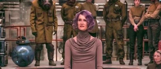 Vicealmirante Amilyn Holdo (Laura Dern)