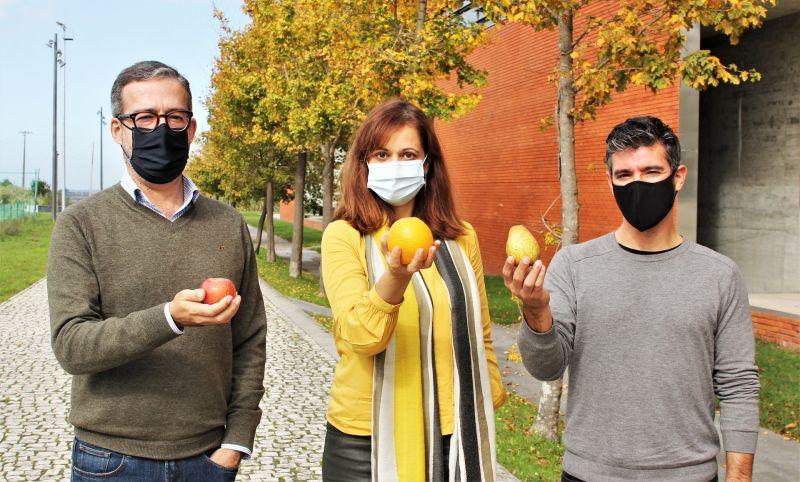 Os investigadores Filipe Teles, Sara Moreno Pires e Armando Alves