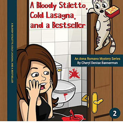 A Bloody Stiletto, Cold Lasagna and a Bestseller