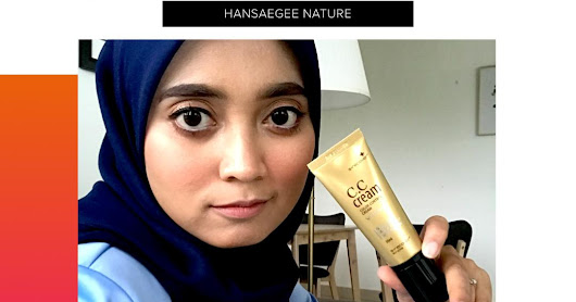 GOLD NANO CC CREAM SIMPLE DAILY MAKEUP BY HANSAEGEE NATURE