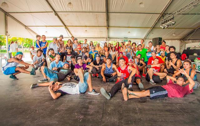 Danças Sociais do Hip hop terá programação em Santos.