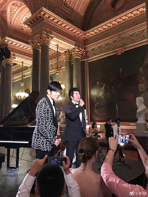 Lang Lang perform Jay Chou