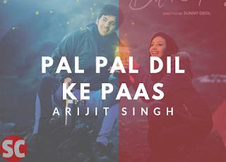 Pal Pal Dil Ke Paas | Arijit Singh, Parampara Guitar Chords - Title Track