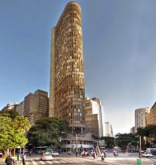 Edifício Itália | Início da Av. Ipiranga, próxima Praça da República, Centro de São Paulo