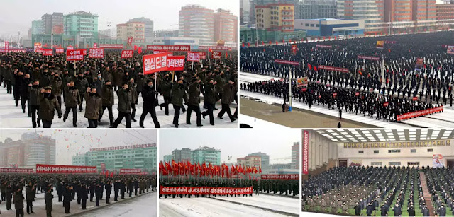 (2) DPRK Continue Army-People Rallies