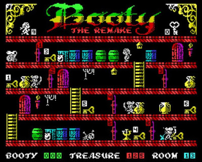 Booty The Remake - Black Edition. ZX Spectrum