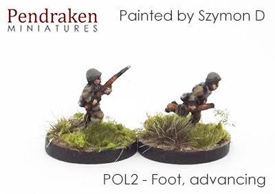POL2 Foot, advancing