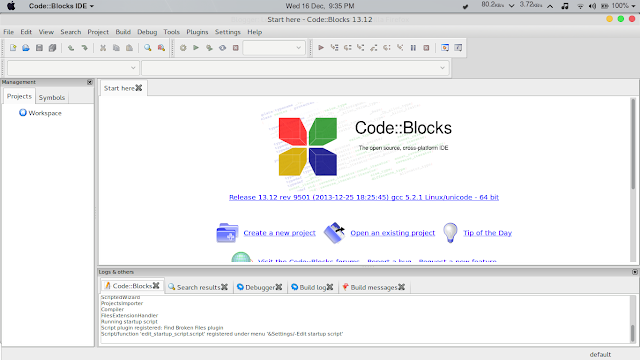 CodeBlocks Linux