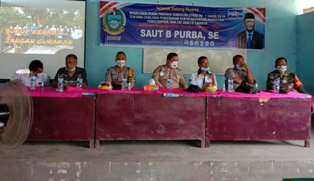 Dalam Rangka Sosialisasi P4GN Turut Serta Diahdiri Personel Jajaran Kodim 0207/Simalungun
