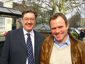 Paul with our MP Nick Hebert