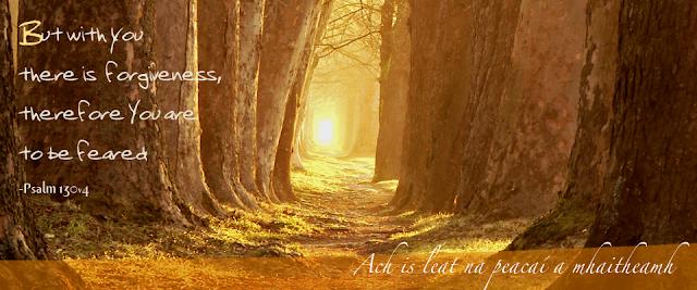 Irish Forest Psalm 130