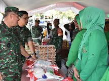 Kodam XIII/Mdk buka Bazar untuk bantu kesulitan Masyarakat