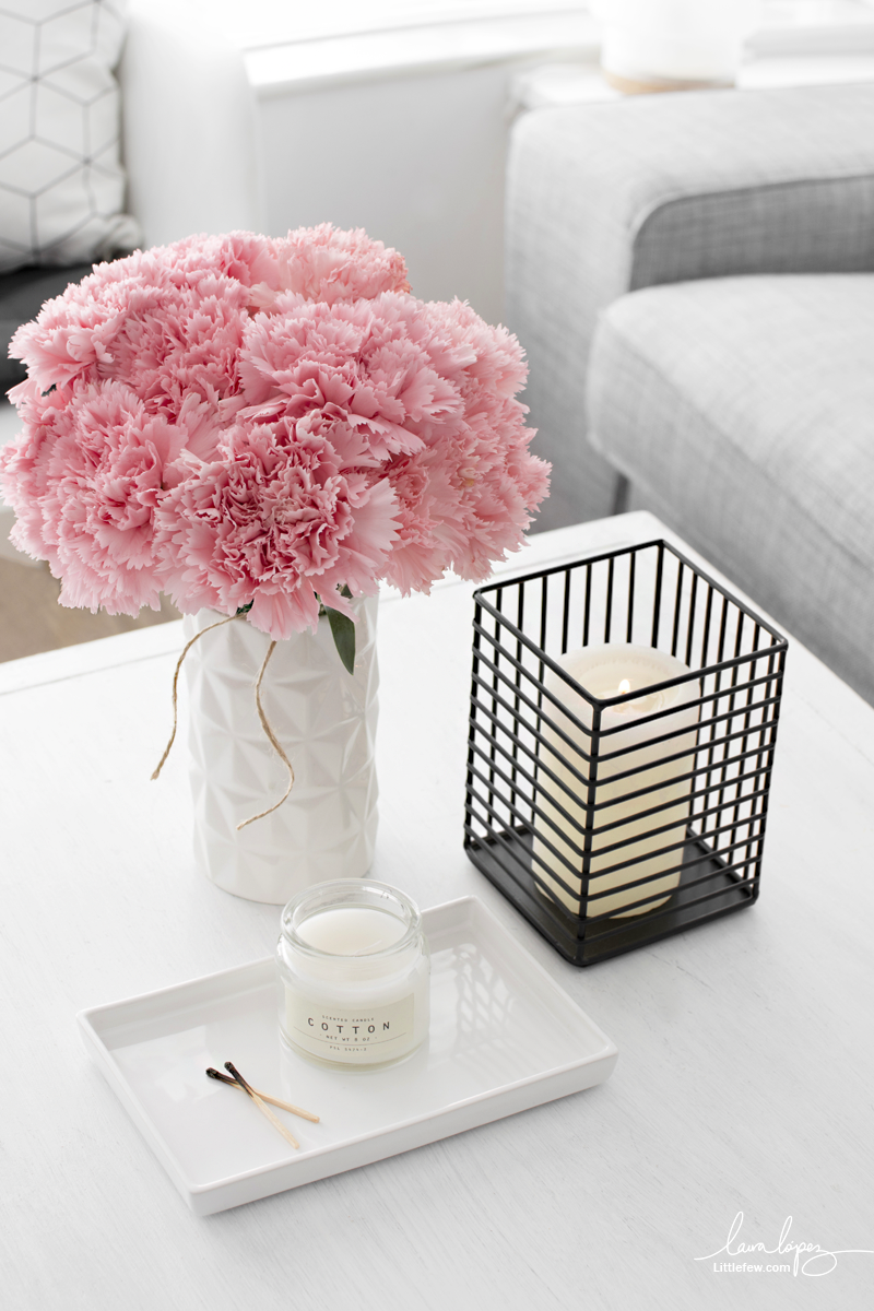 ADD A TOUCH OF COLOR IN YOUR HOME WITH NATURAL FLOWERS