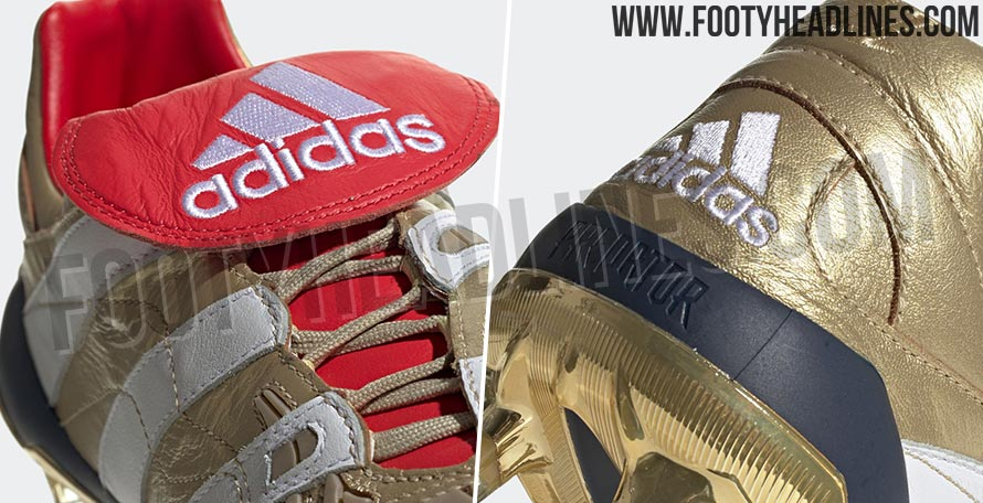 5fcbcdcfe0a The Adidas Predator Accelerator Zidane boots have been released as part of  the Icon 25 Year pack. The new Zidane remake cleats feature an original  design ...