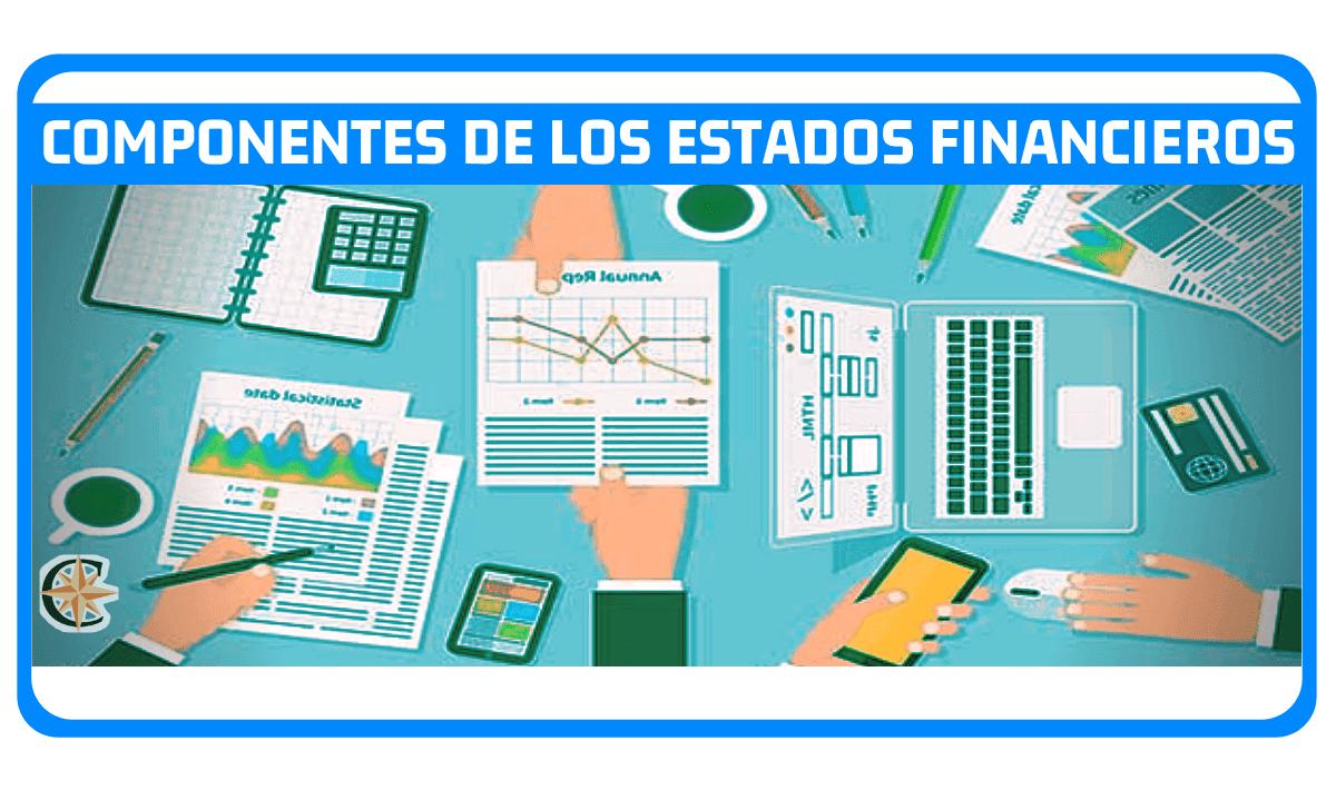 componentes de los estados financieros