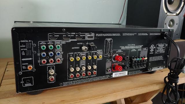 Ampli 5.1 dts - Ampli stereo - Đầu MD làm DAC - Đầu CDP - Sub woofer v.v.... - 20