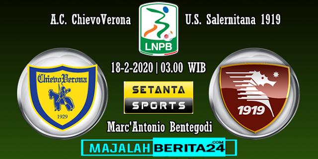 Prediksi Chievo Verona vs Salernitana