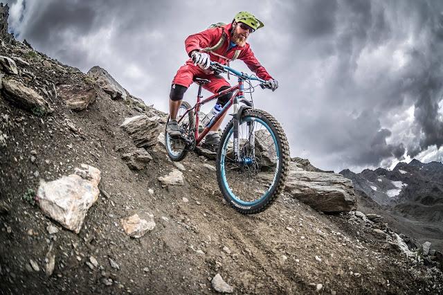 MTB Enduro Trail Casati Hütte Mountainbike