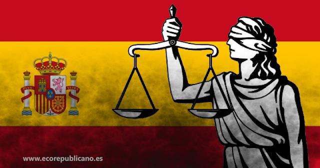 Representación Justicia en España.