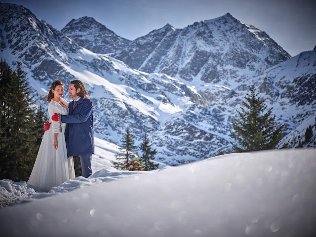 Winterwonderland, together forever, winter wedding, Braut & Bräutigam, Winterhochzeit, Tirol, Pitztal, Pure Resort, Hochzeitsfotografie Marc Gilsdorf, Hochzeitsplanung Uschi Glas 4 weddings & events, Berghochzeit, destination wedding, elopement, heiraten in Tirol, mountain wedding