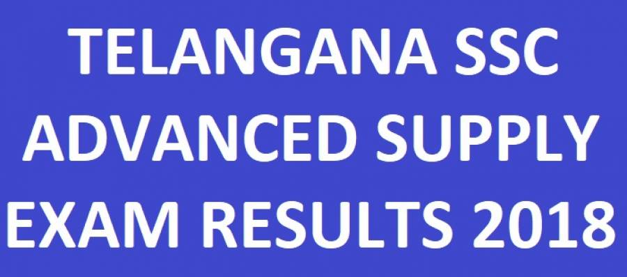 Telangana SSC Supplementary Results