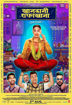 Download Khandaani Shafakhana (2019) Hindi Full Movie 480p [350MB] | 720p [1.2GB]