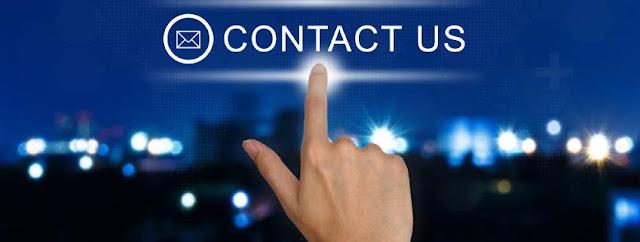 VIP Magazine Contact us page.