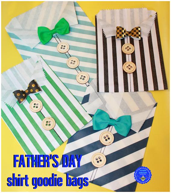 hoopla palooza: father's day shirt goodie bags