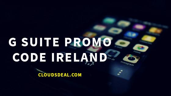 gsuite ireland promo code