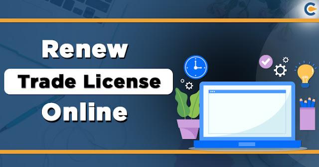 Renew the Trade License